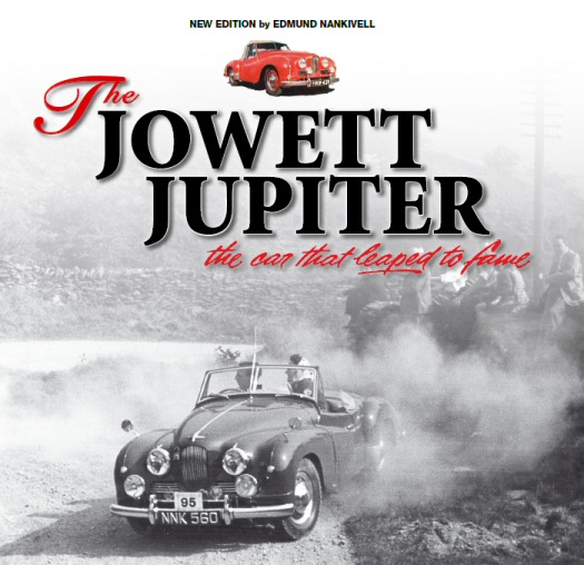 Jowett Jupiter book cover