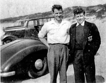 Jowett Jupiter with Peter Craven 2