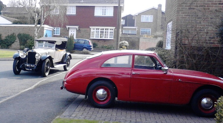 Jowett Jupiter FHC with Delage