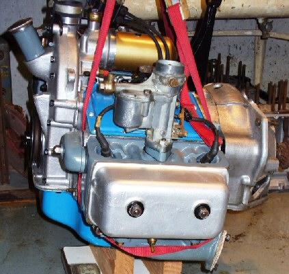 Jowett Jupiter engine