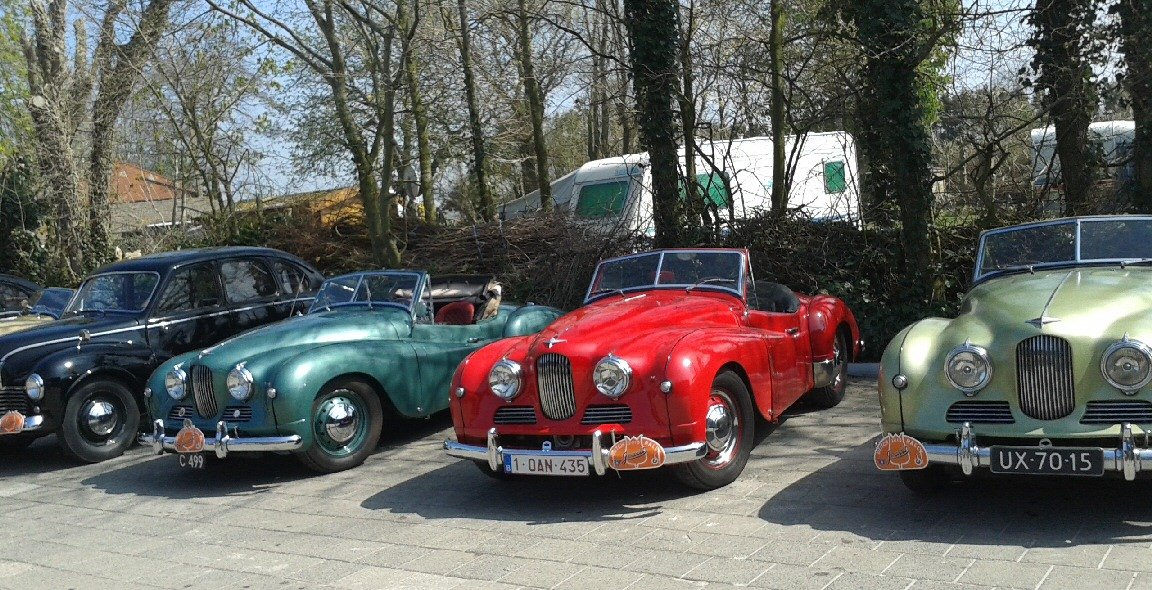 Jowett Jupiters in Holland April 2015