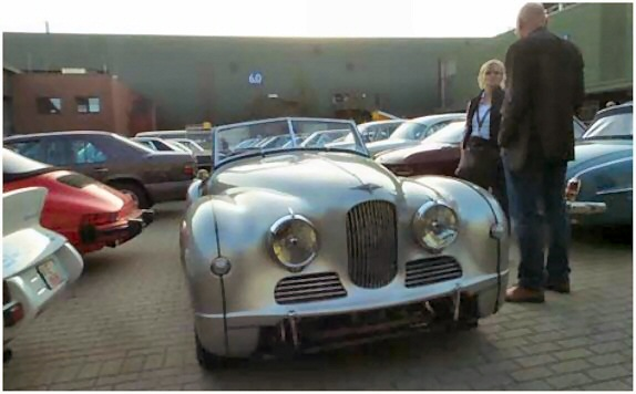 Jowett Jupiter at Essen auction April 2015