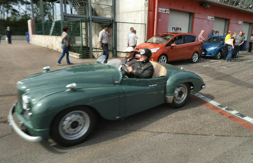 Jowett Jupiter at Zolder before the race 2013