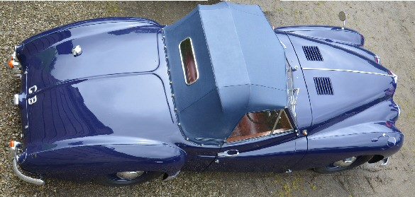 blue Jowett Jupiter