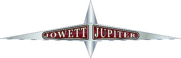 Jowett Jupiter bonnet badge