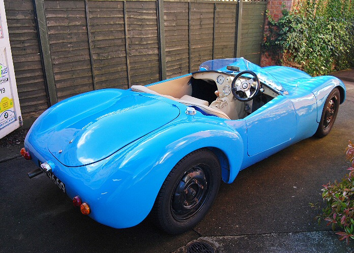 Jowett Jupiter with Nickri body fitted by Mike Smailes