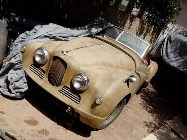 Jowett Jupiter for restoration in Phoenix Arizona