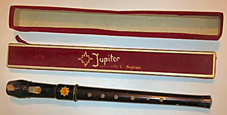 Jupiter descant recorder