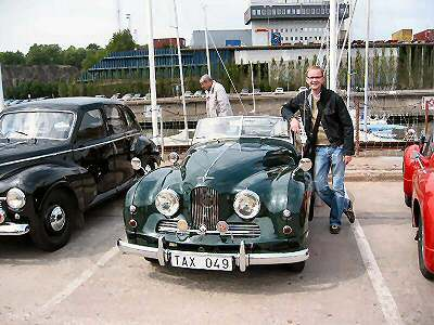 Jowett Jupiter in Sweden