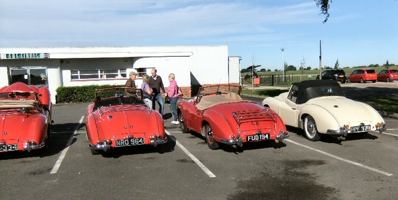 Jowett Jupiters at Sywell Sept 2013