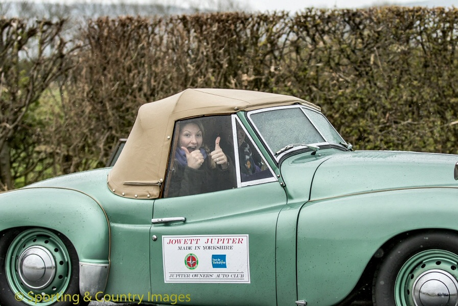 Jowett Jupiter in Tour de Yorkshire