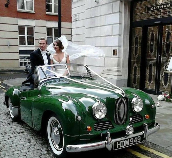 Jowett Jupiter wedding car